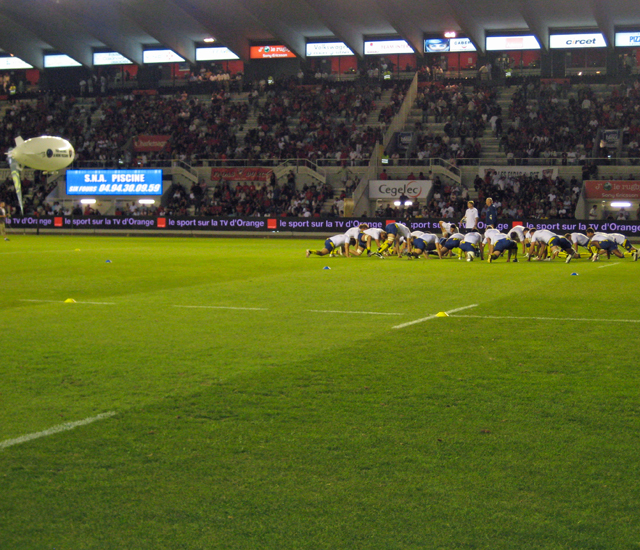 Sports and Travel Europe, stade de rugby