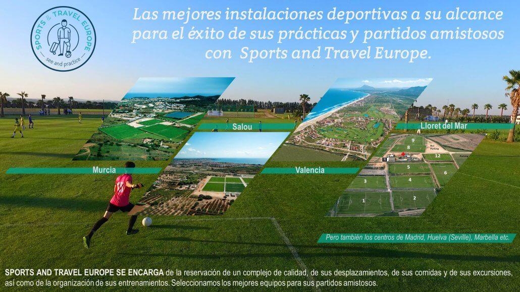 stages de football en Espagne
